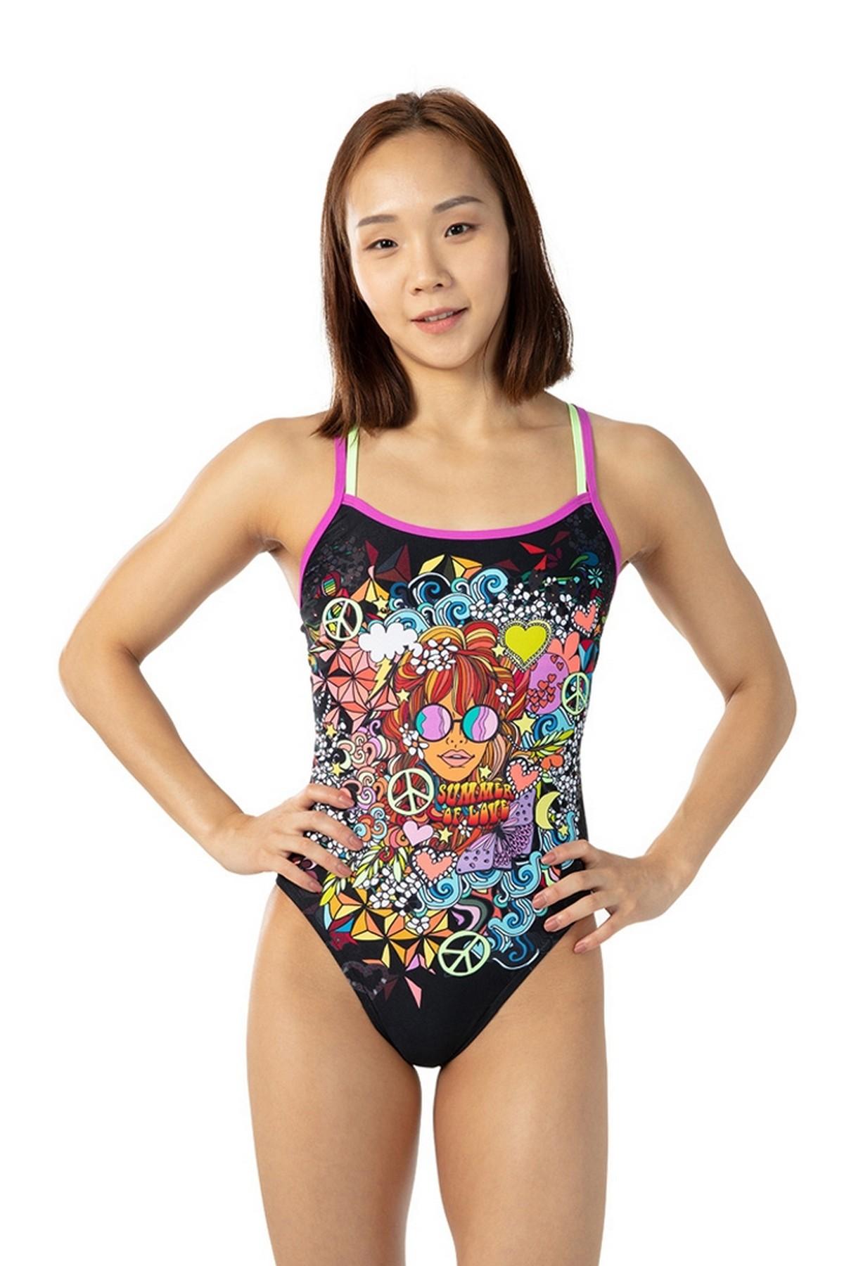 Speedo PLMT XBCK TF Kadın Yüzücü Mayo (8-10626C804)