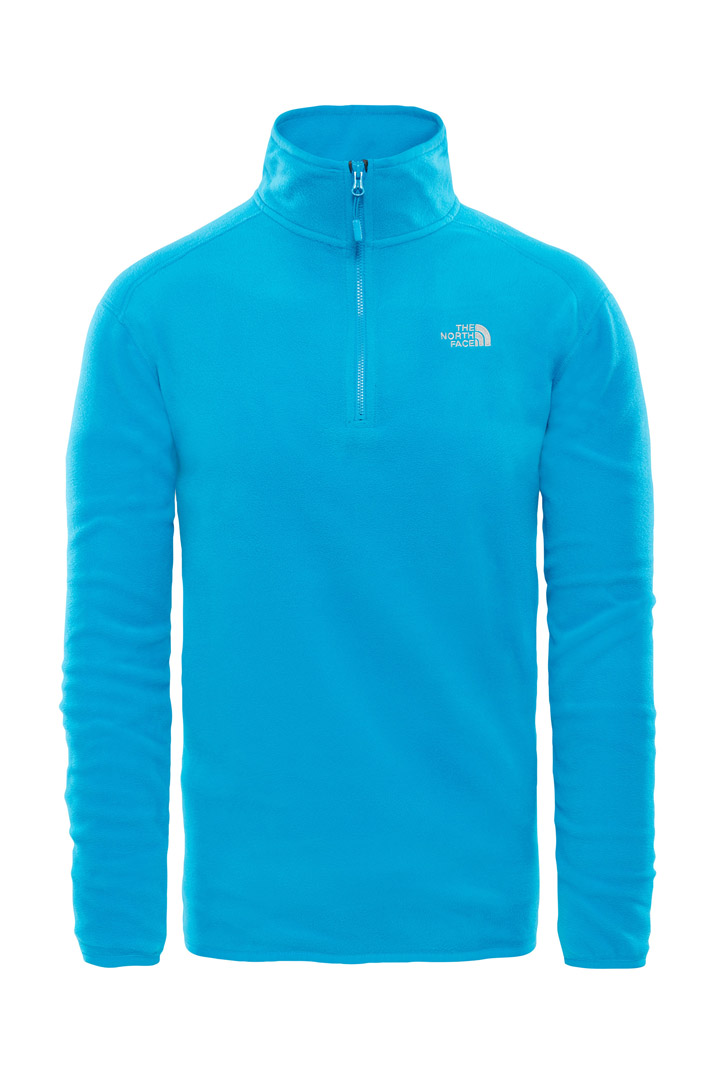 The North Face 100 Glacier Zip Sweatshirt (T92UARNXS)