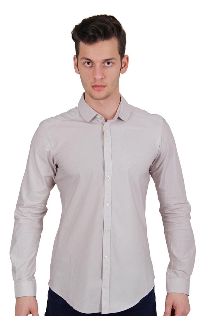 Austin Erkek Reed Gömlek Beyaz (GM0251-2)