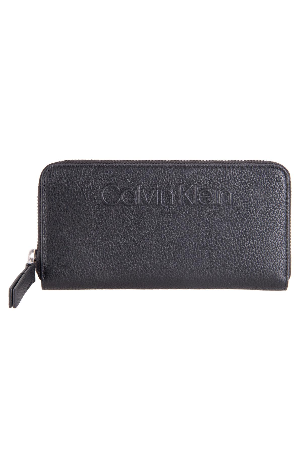Calvin Klein  Bayan Cüzdan Siyah (ZW0ZW01014)