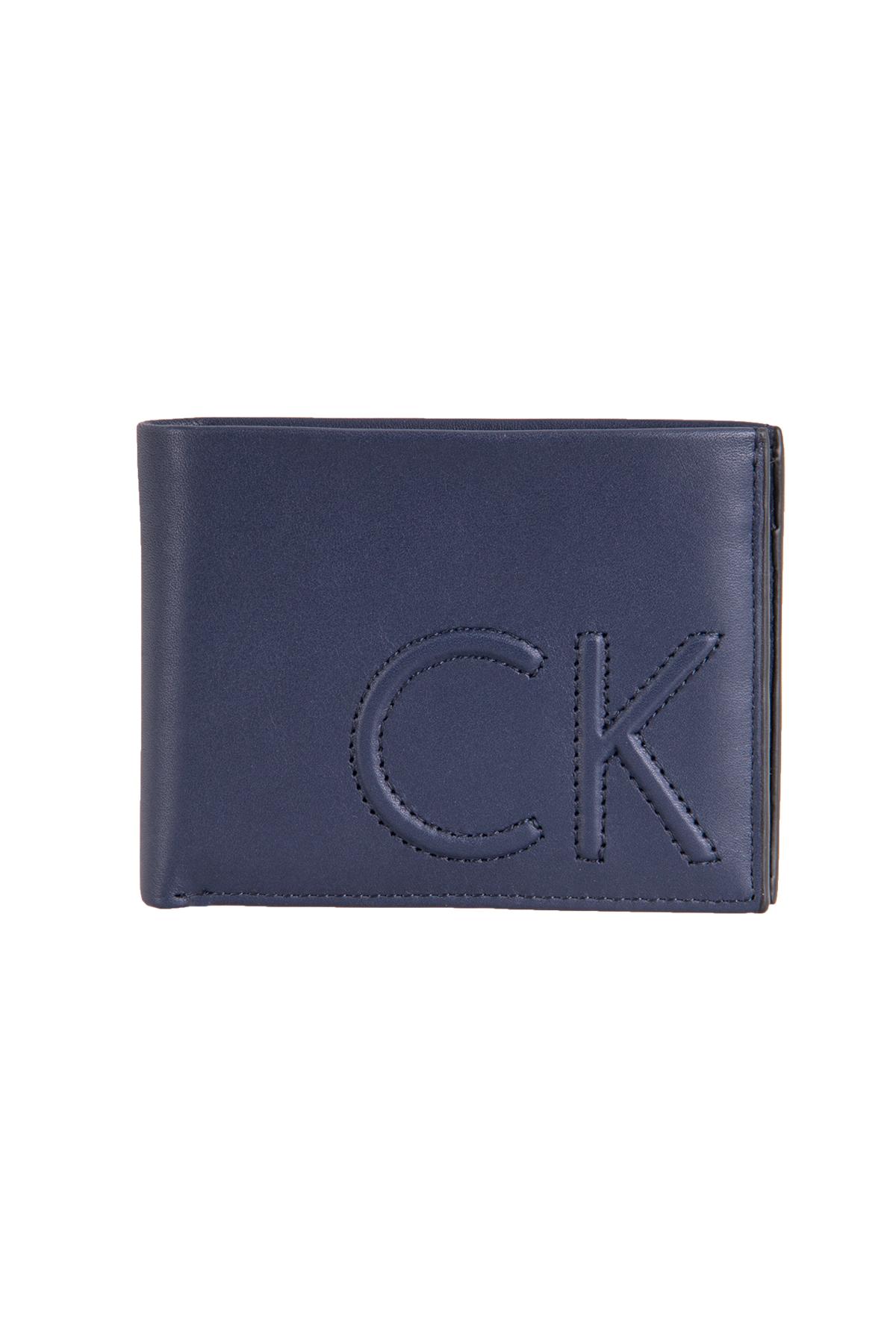 Calvin Klein Erkek Cüzdan Lacivert (ZM0ZM00723-425)