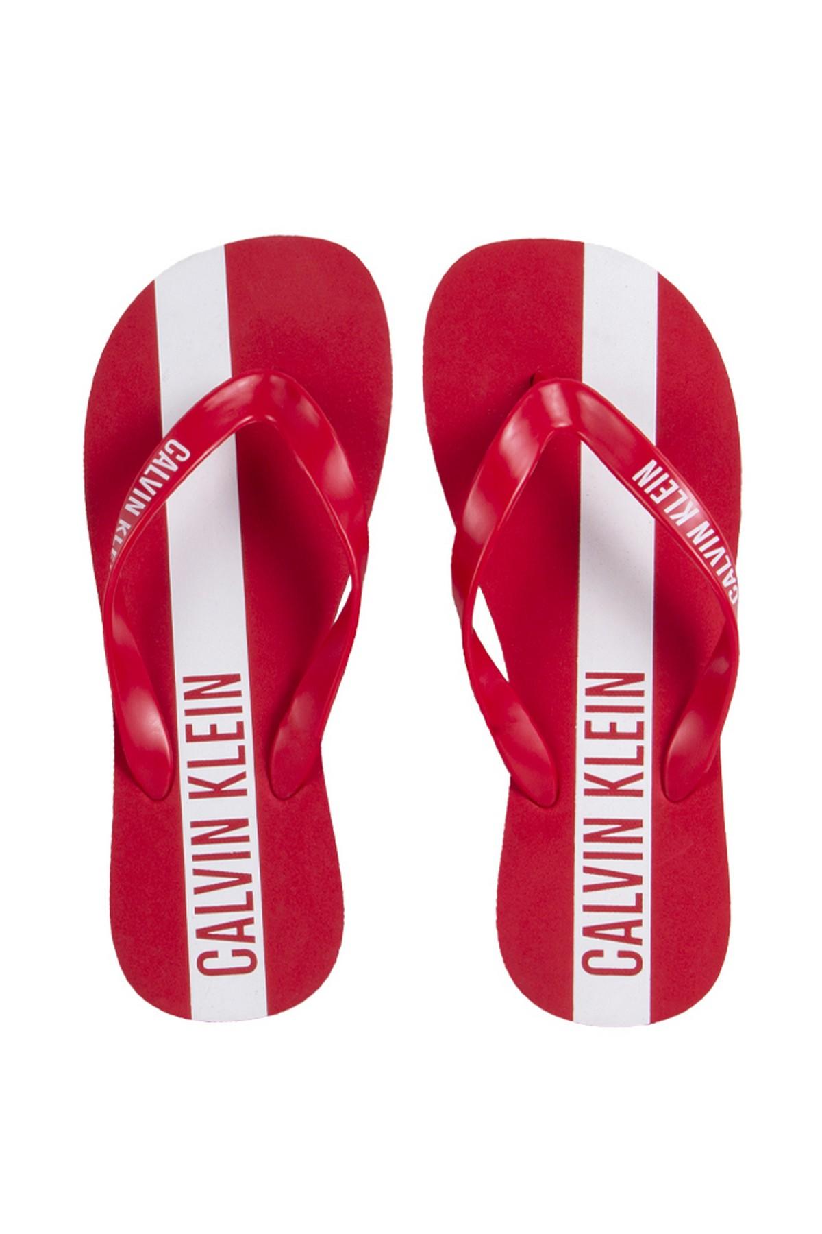 Calvin Klein Plaj Terliği Kırmızı (KM0KM00208622)