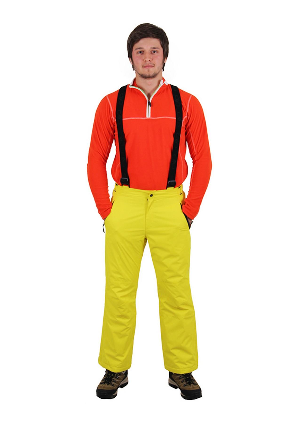 Cmp Erkek Kayak Pantolonu Sarı (3W01717-R460)