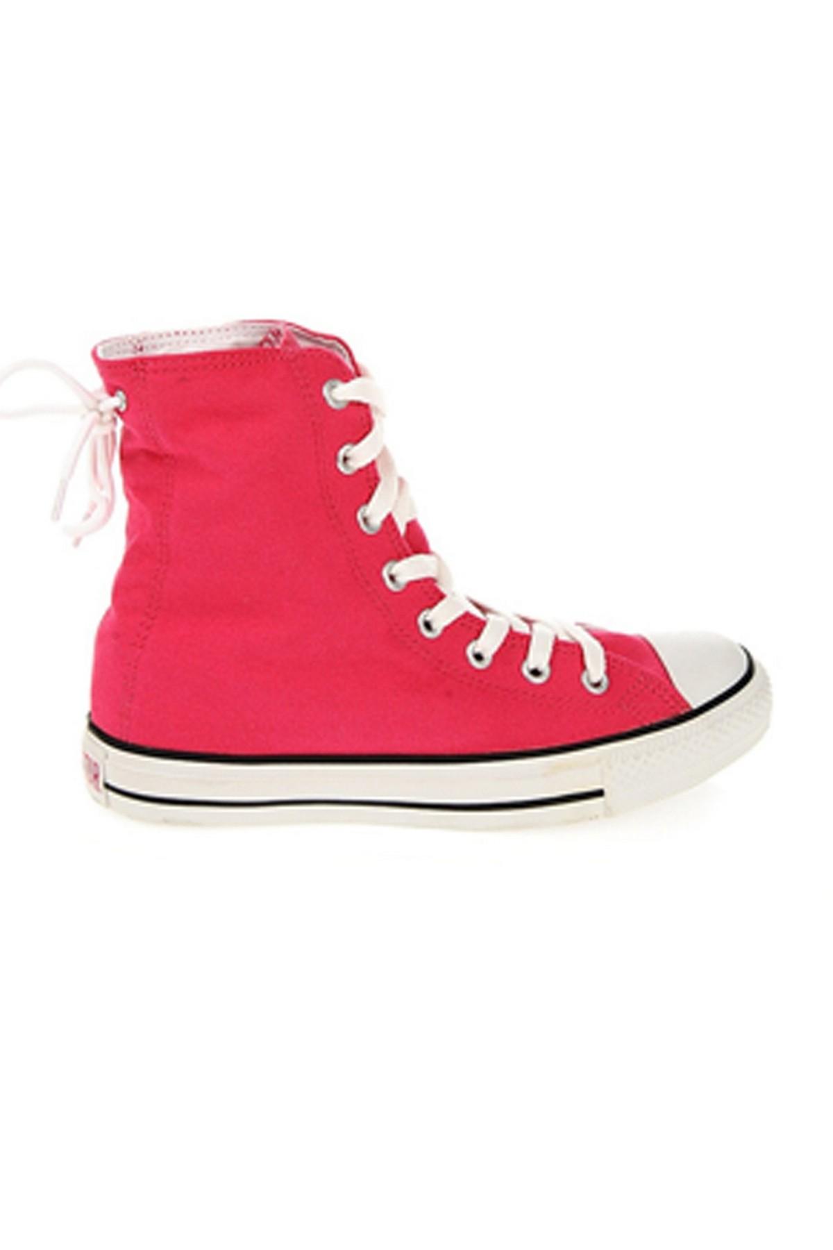 Converse Chuck Taylor All Star Unisex Pembe Sneaker (522199)