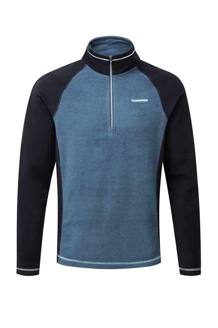 Craghoppers Union Half Zip Polar Erkek Mavi Sweatshirt (CMA1149-2KQ)