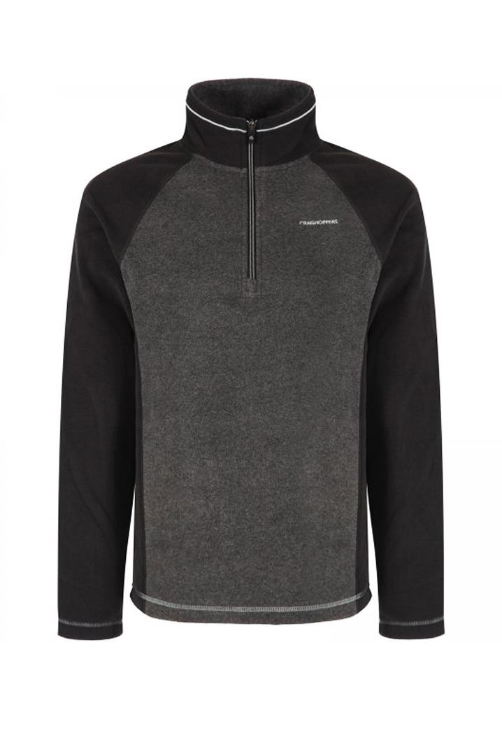 Craghoppers Union Half Zip Polar Erkek Antrasit Sweatshirt (CMA1149-7J8)