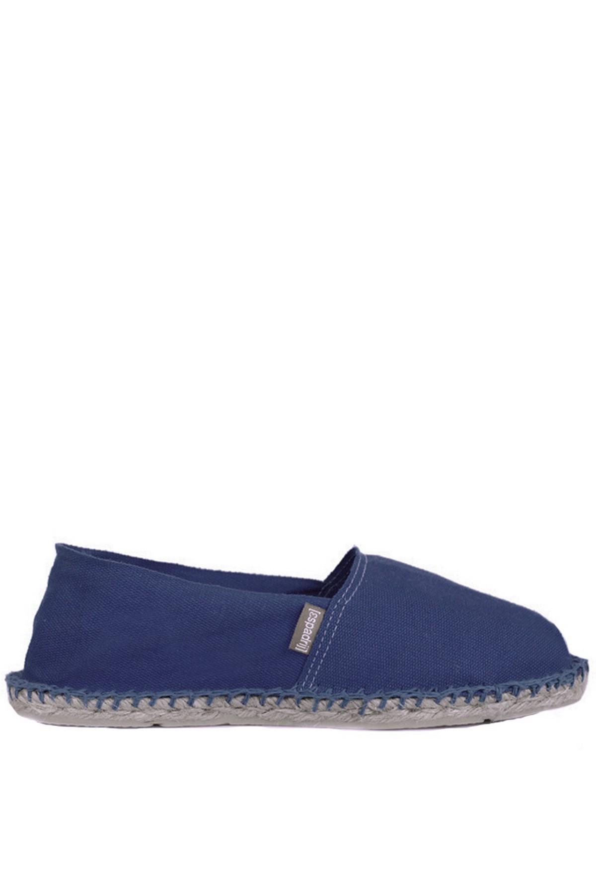 Espadril Günlük Kadın Lacivert Ayakkabı (121ESUAY0002-LACİ)