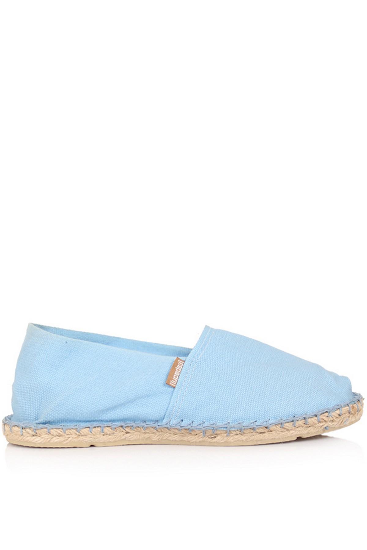 Espadril Günlük Kadın Mavi Ayakkabı (121ESUAY0002-MAVİ)
