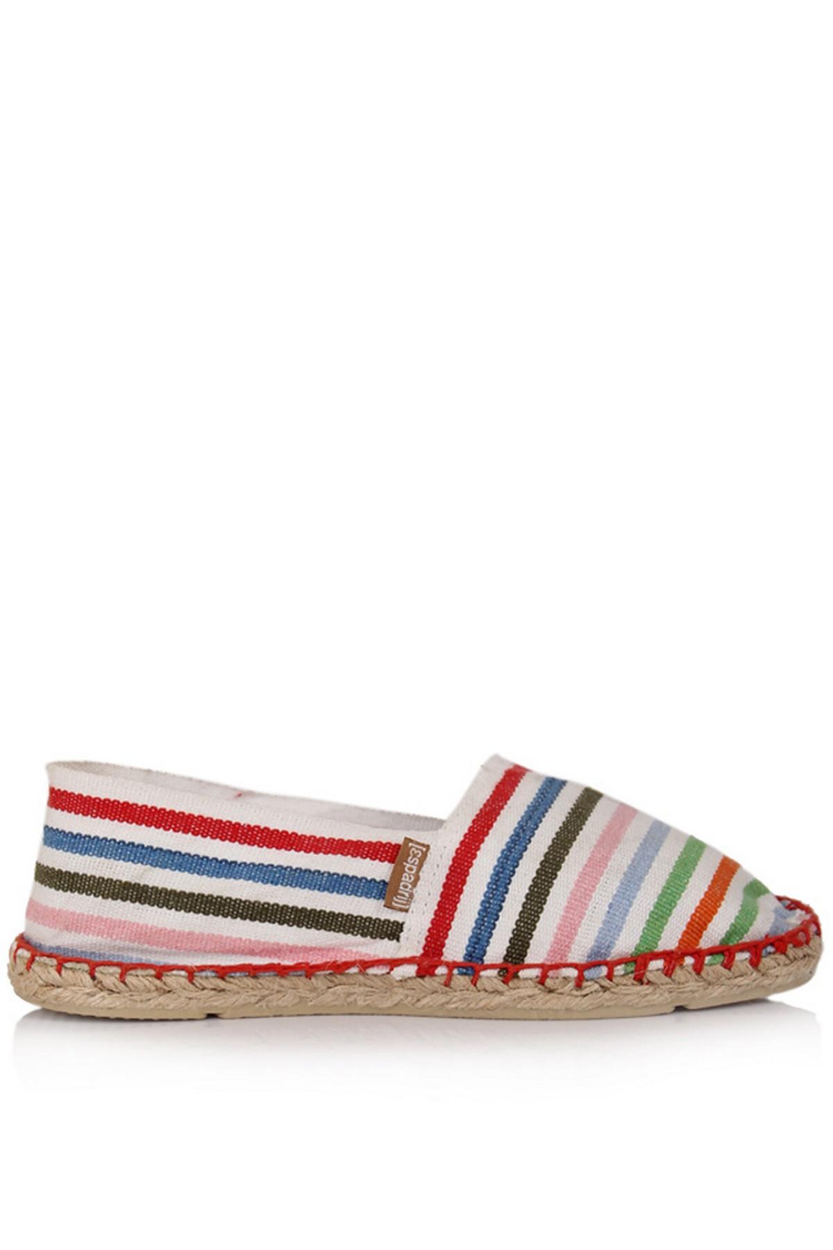 Espadril Günlük Kadın Renkli Ayakkabı (ST00024-41850)