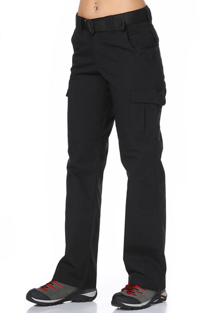 Evolite GoldRushTactical Kadın Pantolon-Siyah (E-3123-S)