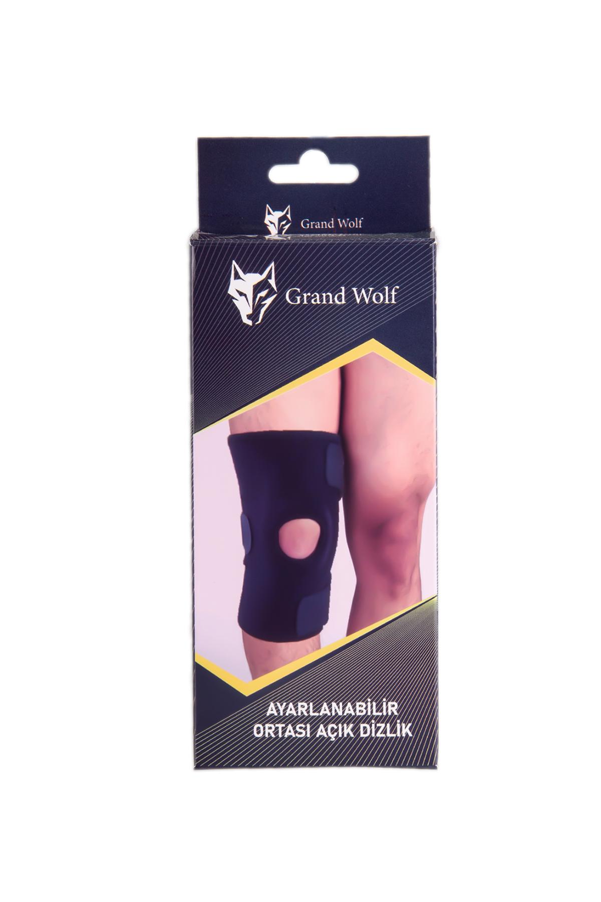 Grand Wolf Ayarlanabilir Ortası Açık Dizlik (GW-OAB)