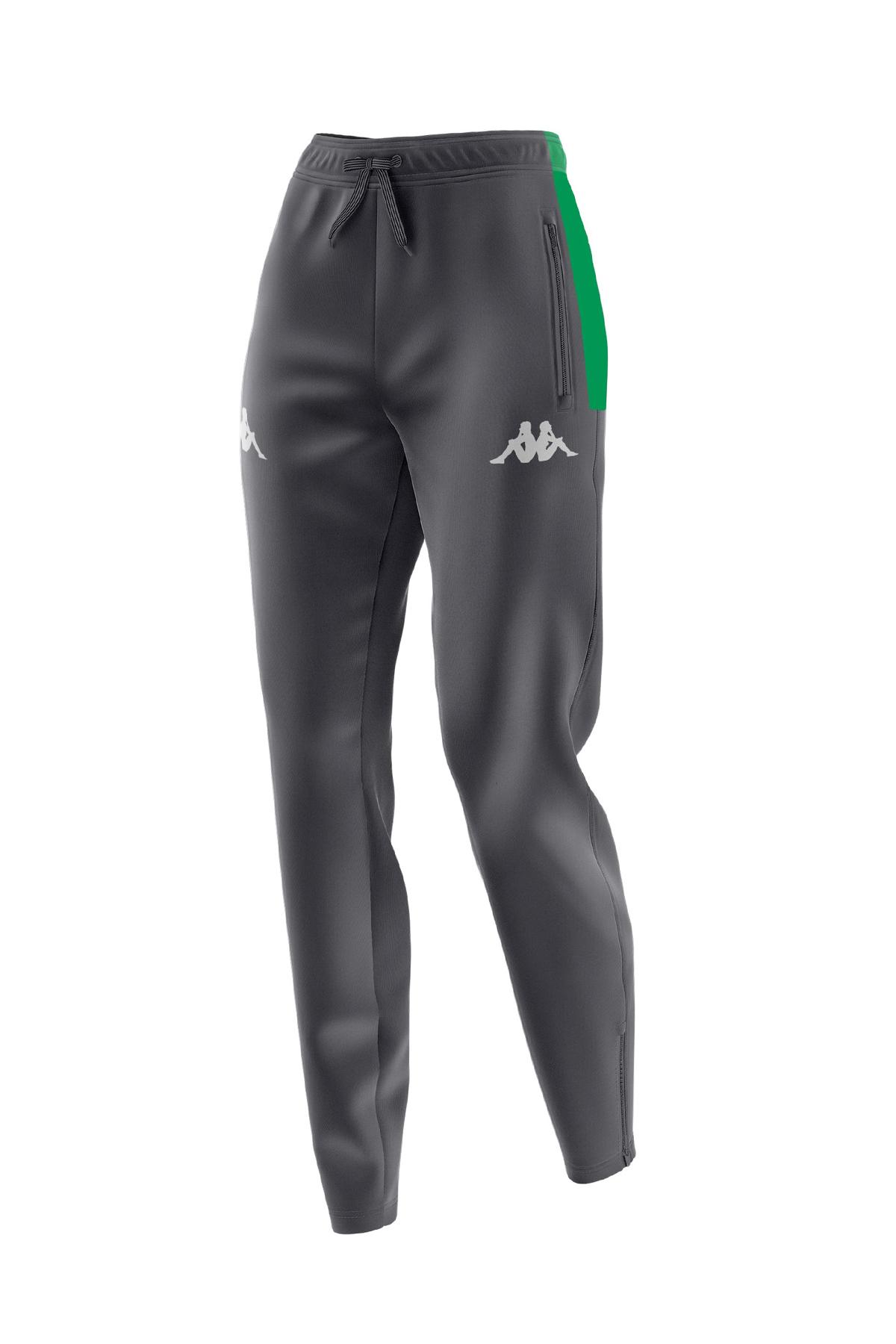 Kappa Sweat Dalgıç Siyah/Yeşil Pantolon (1-3113X3WA-06)