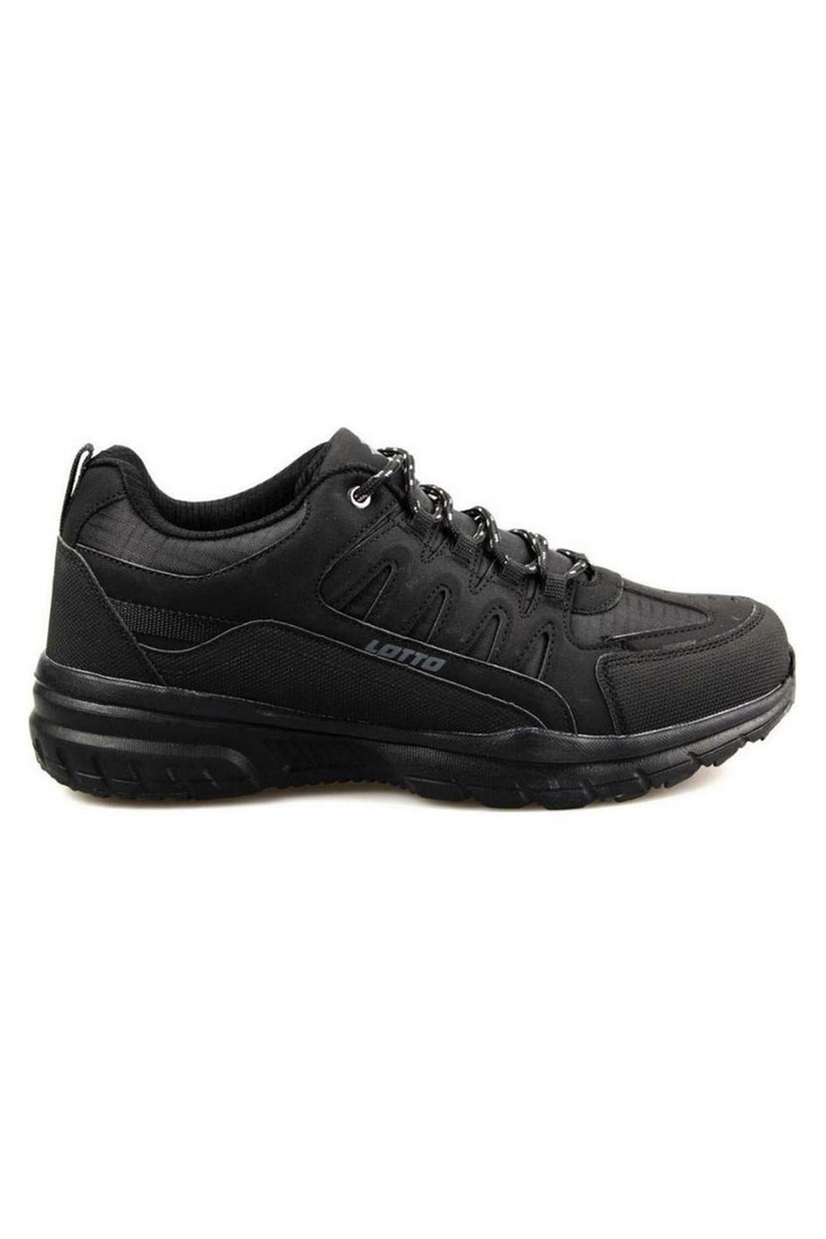 Lotto Grant Siyah Erkek Günlük Ve Yüryüş Spor Ayakkabı (T0401)