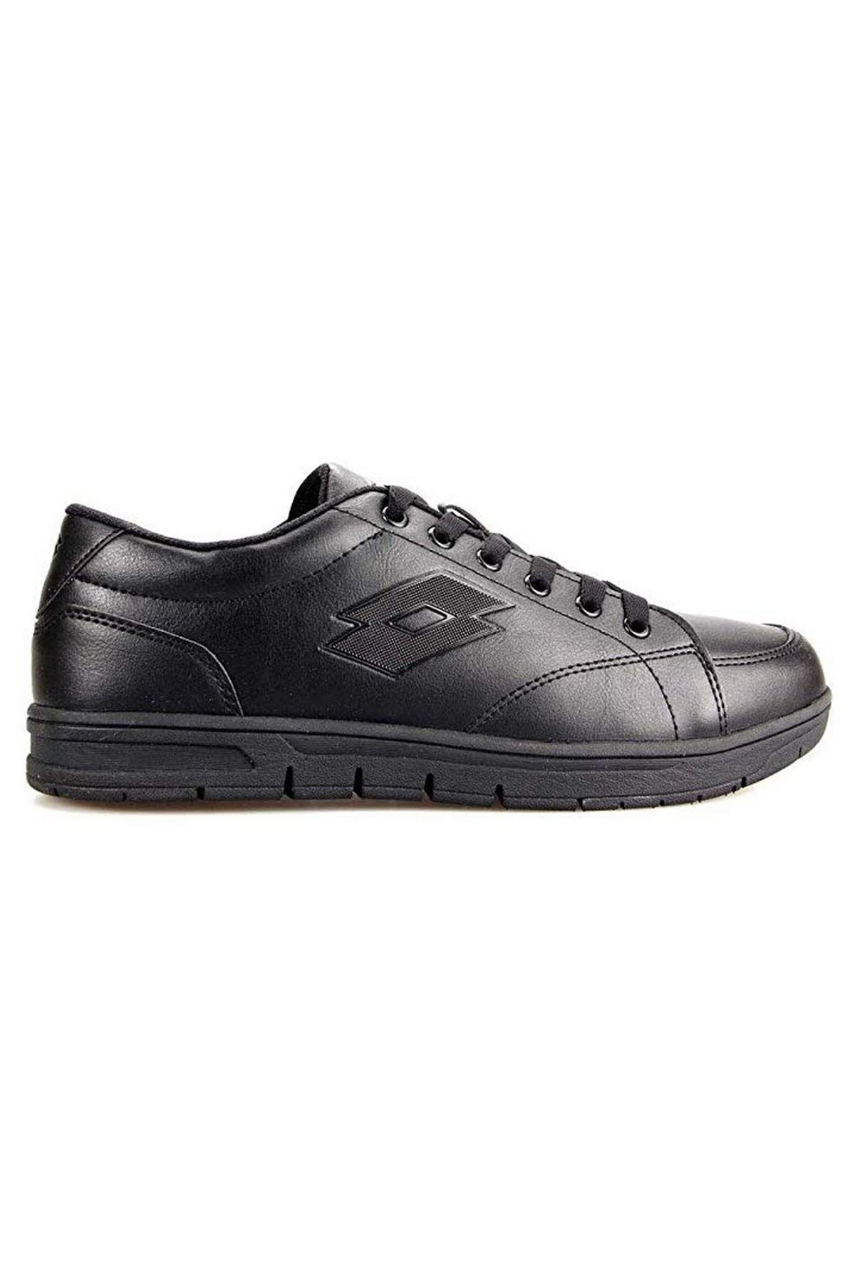 Lotto Wolva Siyah Erkek Günlük Ve Yürüyüş Spor Ayakkabı (T0346)