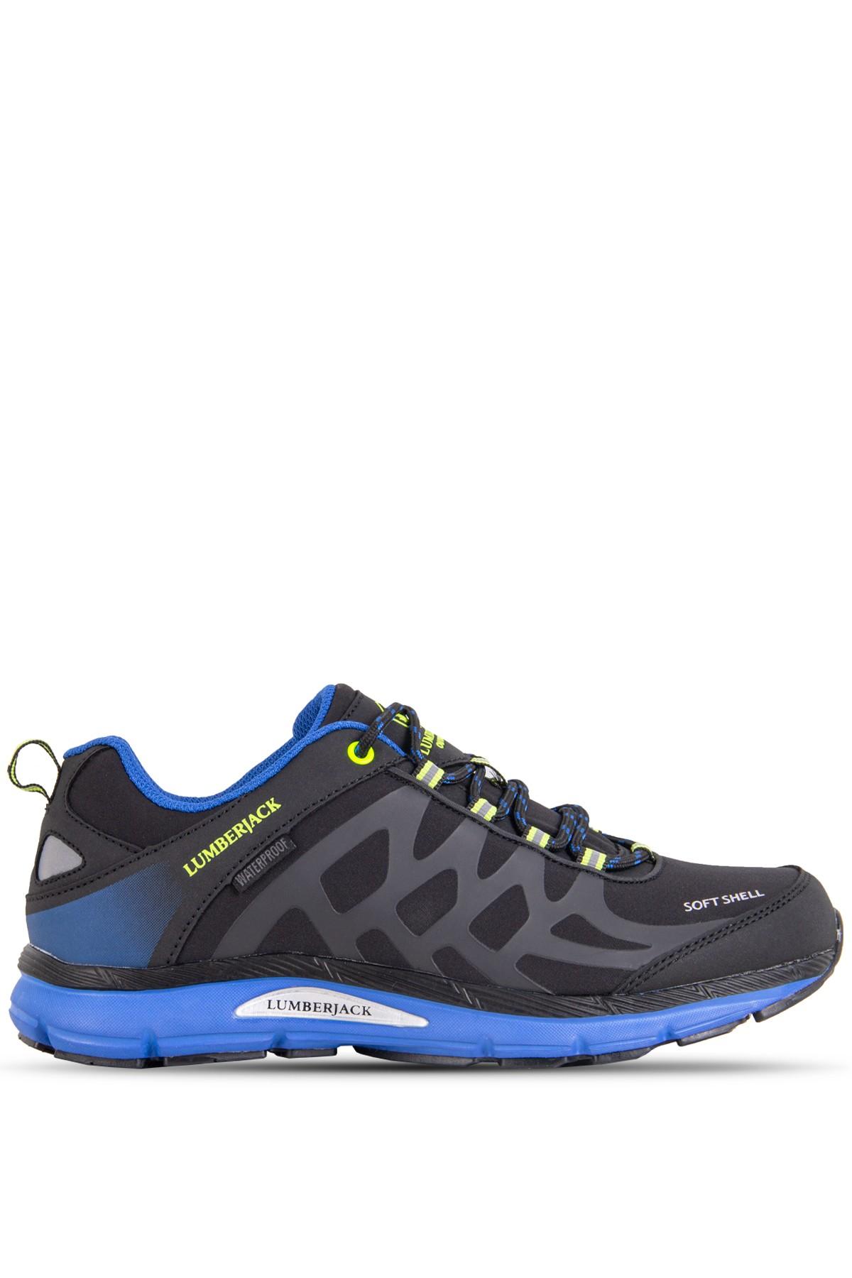 Lumberjack Erkek Siyah/Mavi Spor Ayakkabı (100420726)