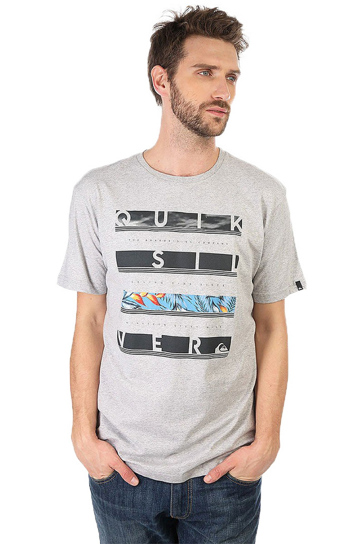 Quiksilver Classic Read Between T-Shirt (EQYZT04280-SGRH)