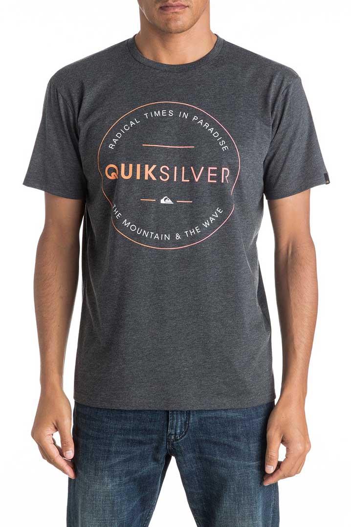 Quiksilver Heater Free Zone T-Shirt (EQYZT04288-KTAH)