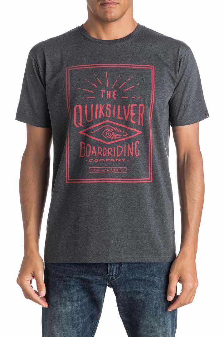 Quiksilver Heater Double Lines T-Shirt (EQYZT04289-KTAH)