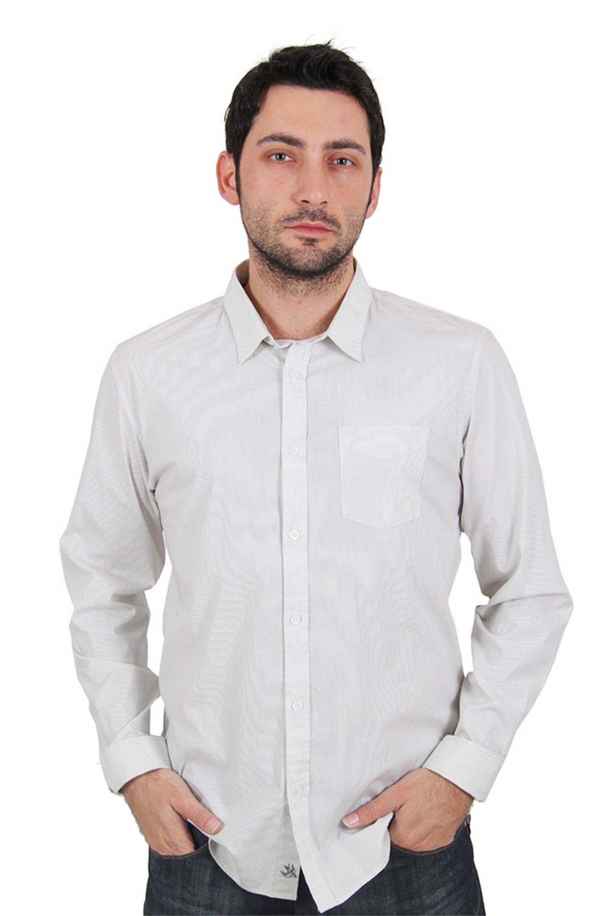 Quiksilver Erkek Gömlek Beyaz (KGMSH083)