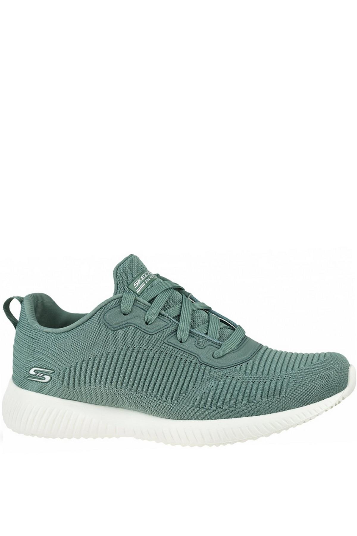 Skechers Kadın Yeşil Spor Ayakkabı Bobs Squad  (32504-SAGE)