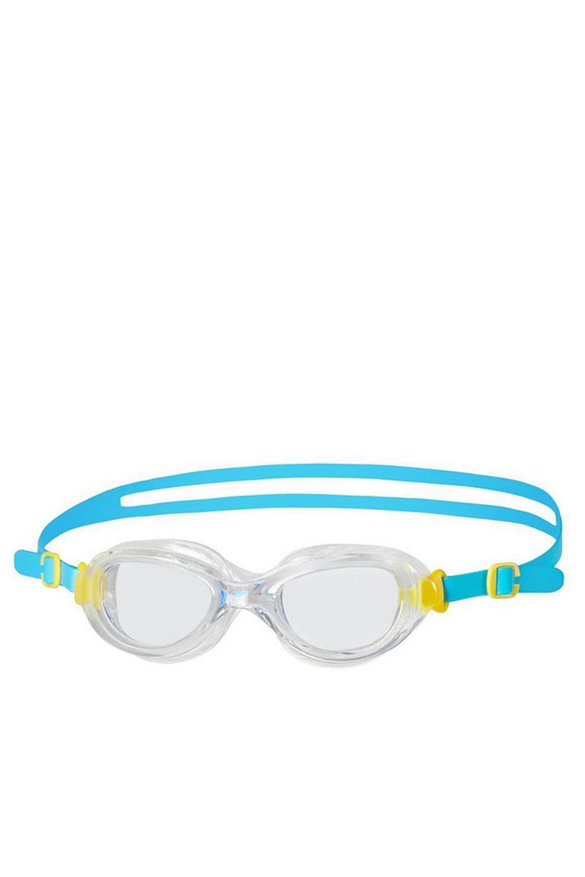 Speedo Futura Classic Junior Yüzücü Gözlüğü Mavi-Beyaz (8-10900B570)