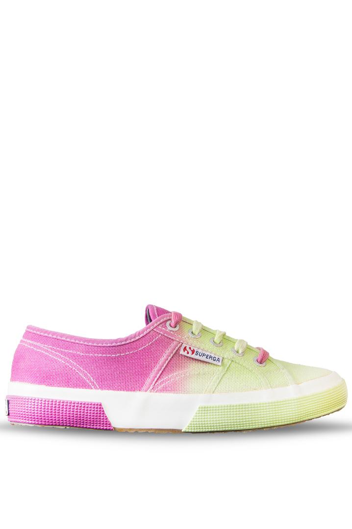 Superga Kadın Ayakkabı 2750 - Cotu Classic Pembe-Sarı Renk (S0032F0-928)
