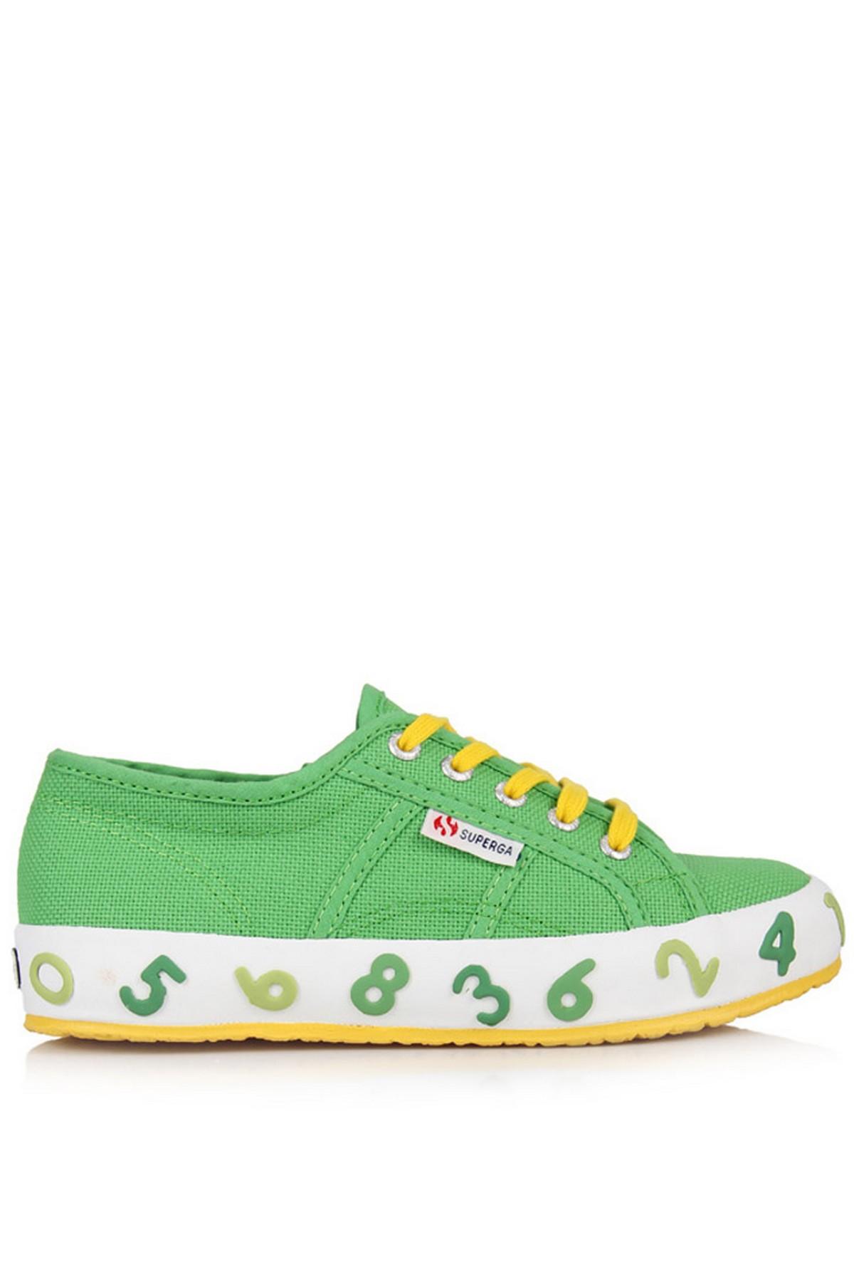 Superga Günlük Çocuk Ayakkabı Yeşil (S002PR0-A92)