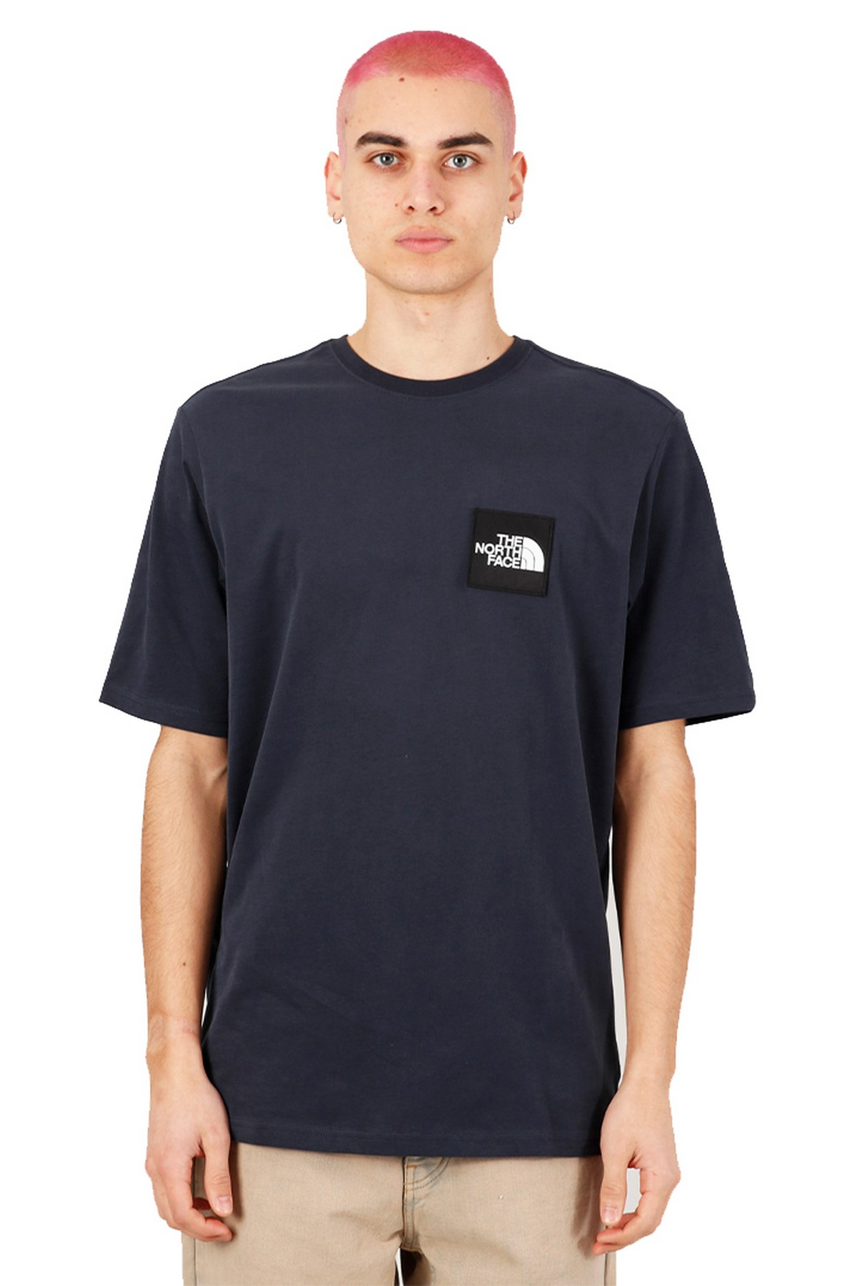 The North Face Masters Of Stone Erkek T-Shirt Lacivert (NF0A492IH2G1)