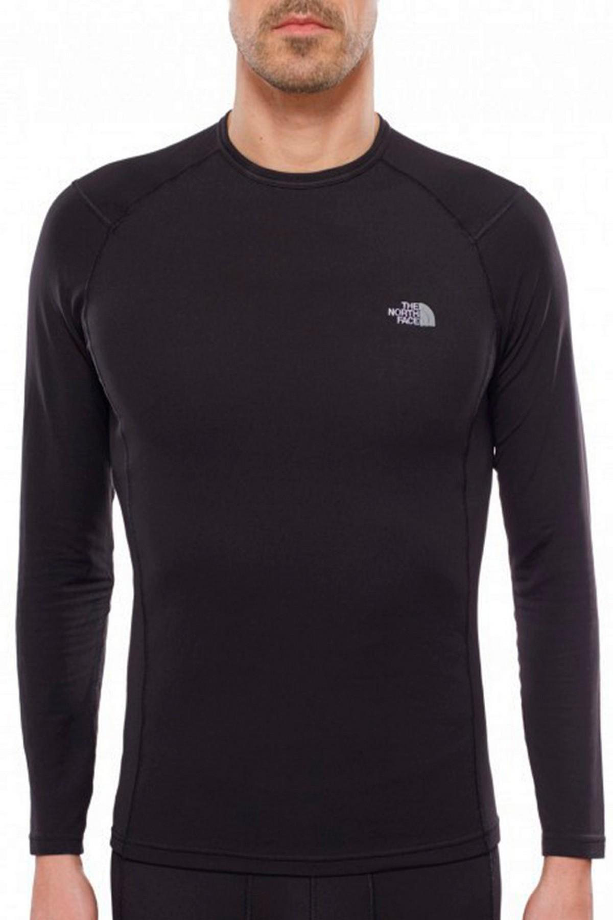 The North Face M Warm Long Sleeve Erkek İçlik Siyah (T0C209JK3)