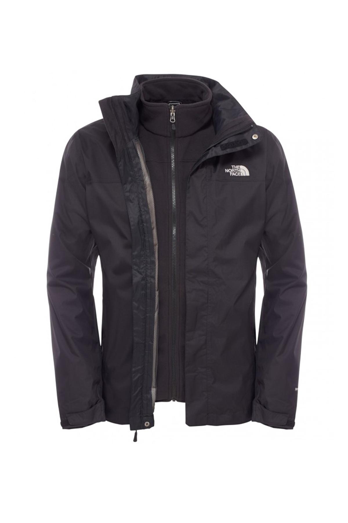 The North Face Trıclımate Jacket Erkek Siyah (NF00CG55JK3)