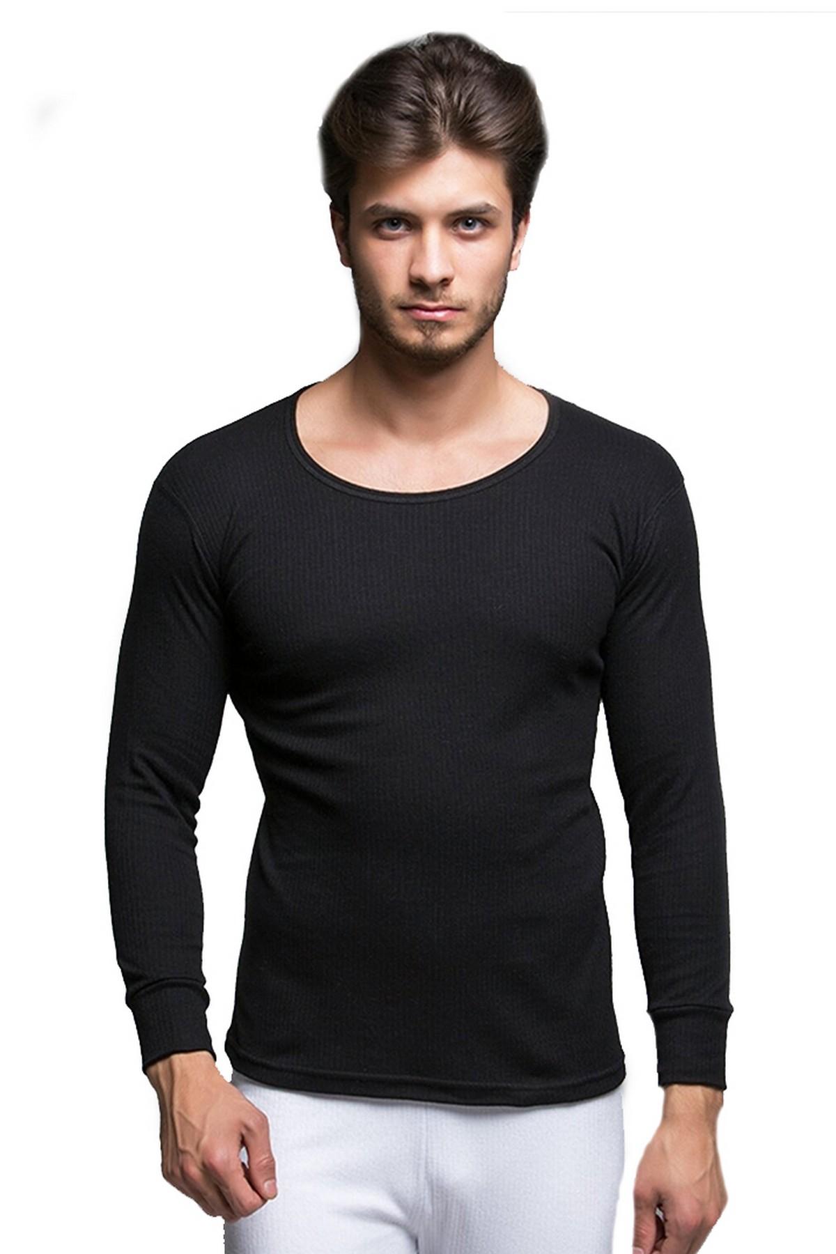 Thermoform Pure Erkek Termal Uzunkol İçlik Siyah (HZT20003-R001)