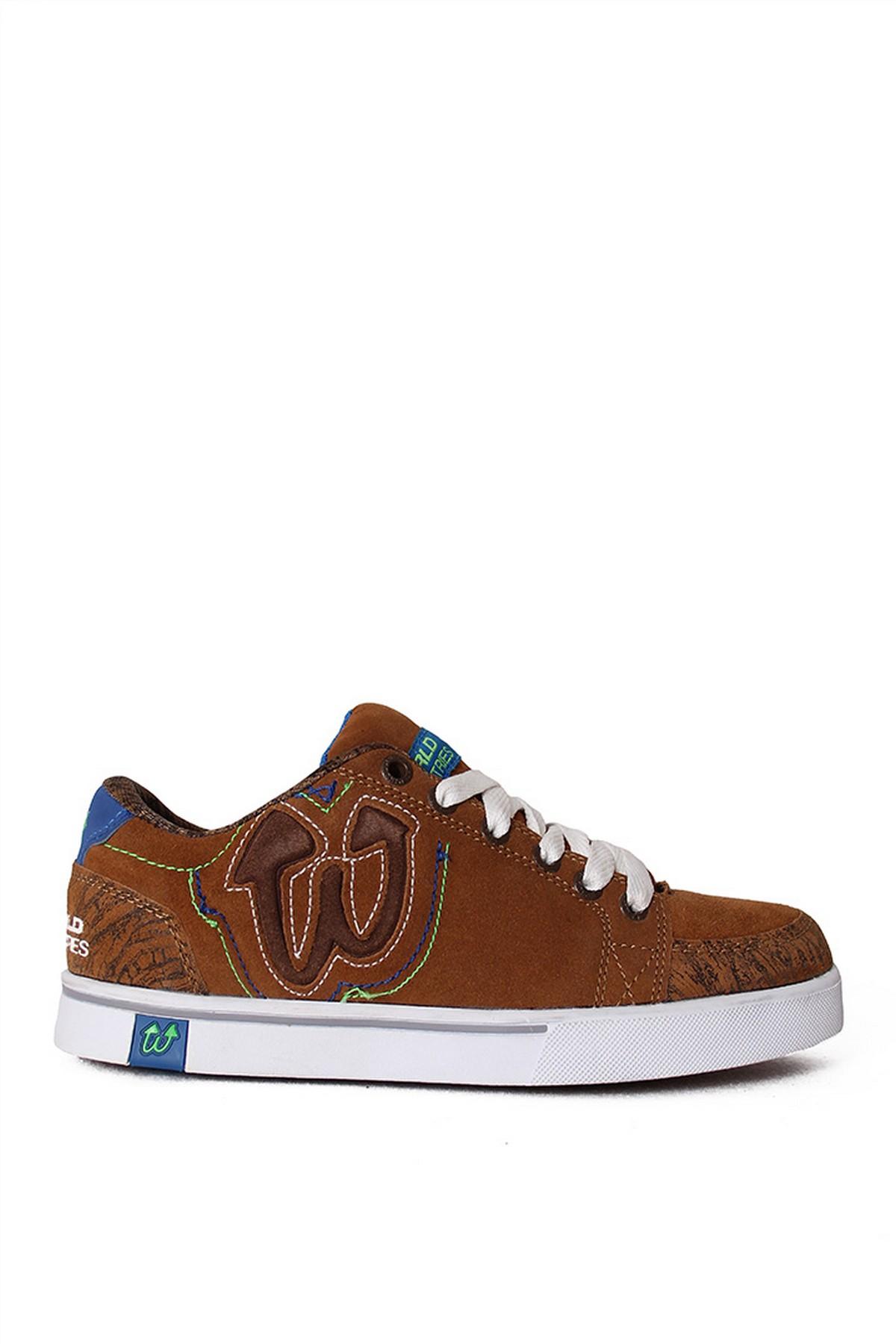 World Erkek Günlük Ayakkabı Kahverengi (WF0099)