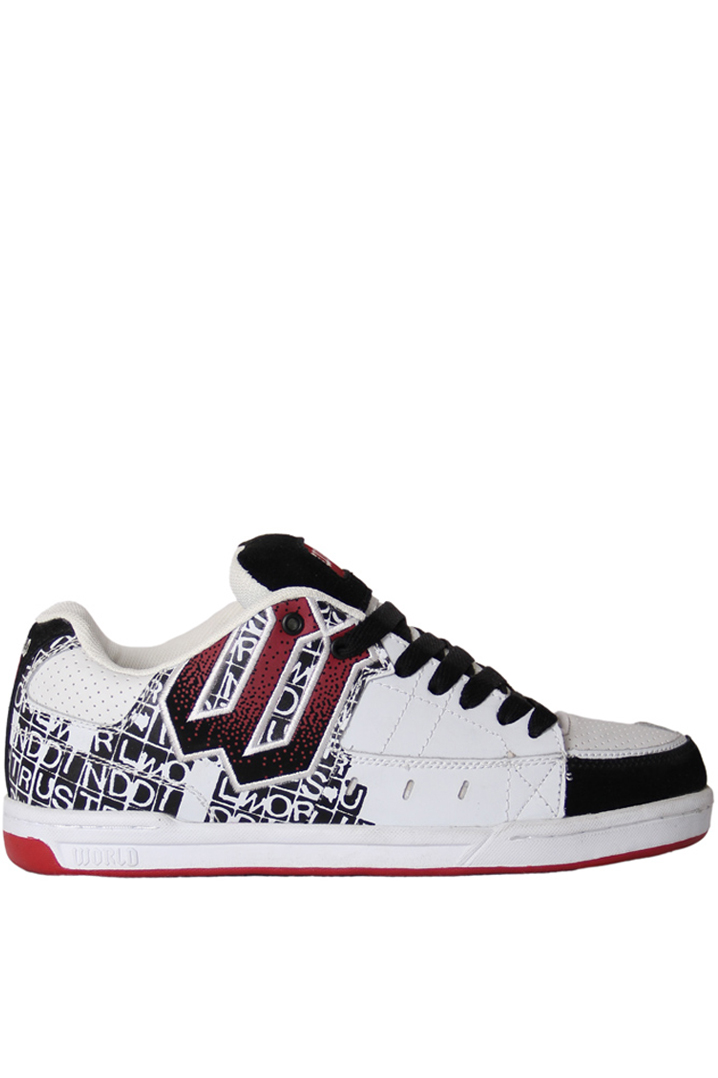 World WF0305 - WHITE/BLK/RED