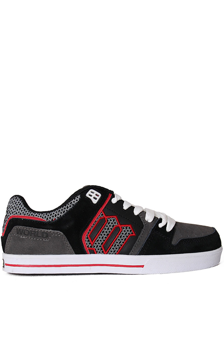 World WF0405 - BLK/GRAY/RED