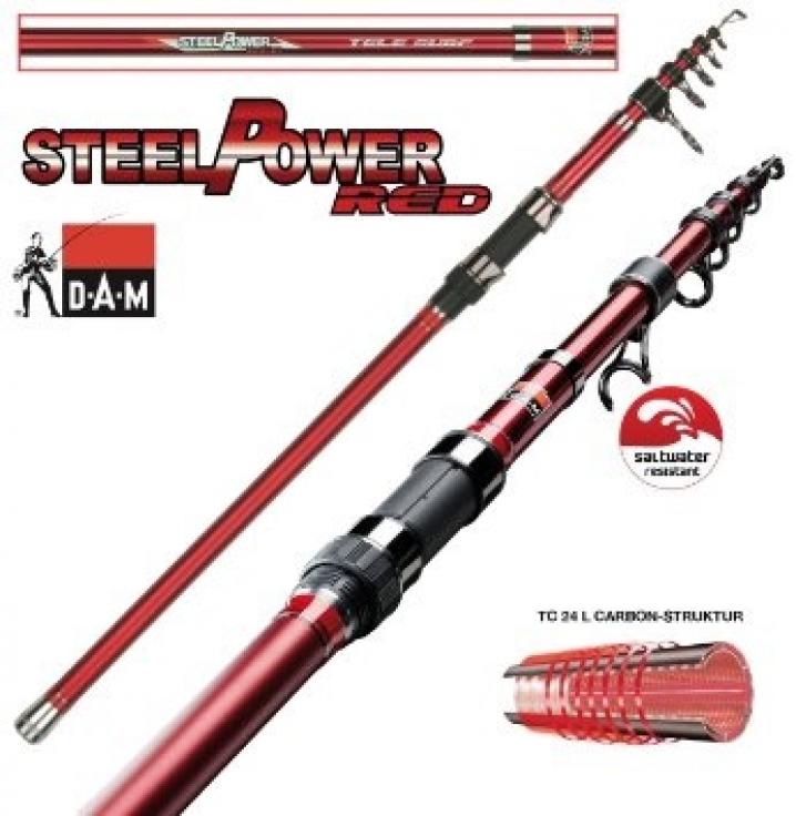 Dam Steelpower Red Surf 100-250g 3pcs