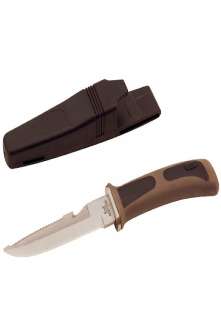 Andoutdoor Dalış Bıçağı Gri-Siyah WL209B