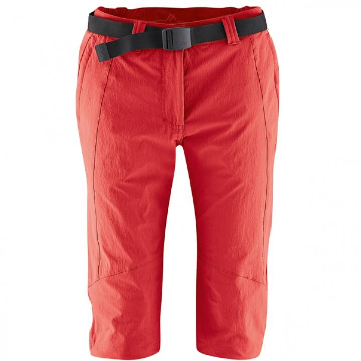 Maier Kluane Kadın Kapri Pantolon 231003 Kırmızı