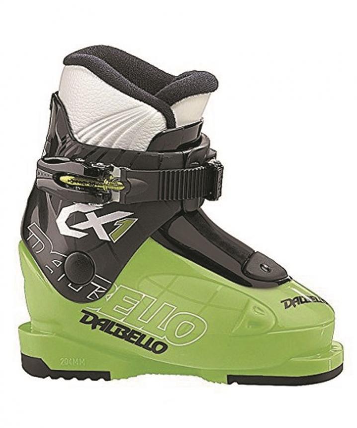 DALBELLO - CX 1 Çocuk Kayak Ayakkabısı Siyah/Yeşil