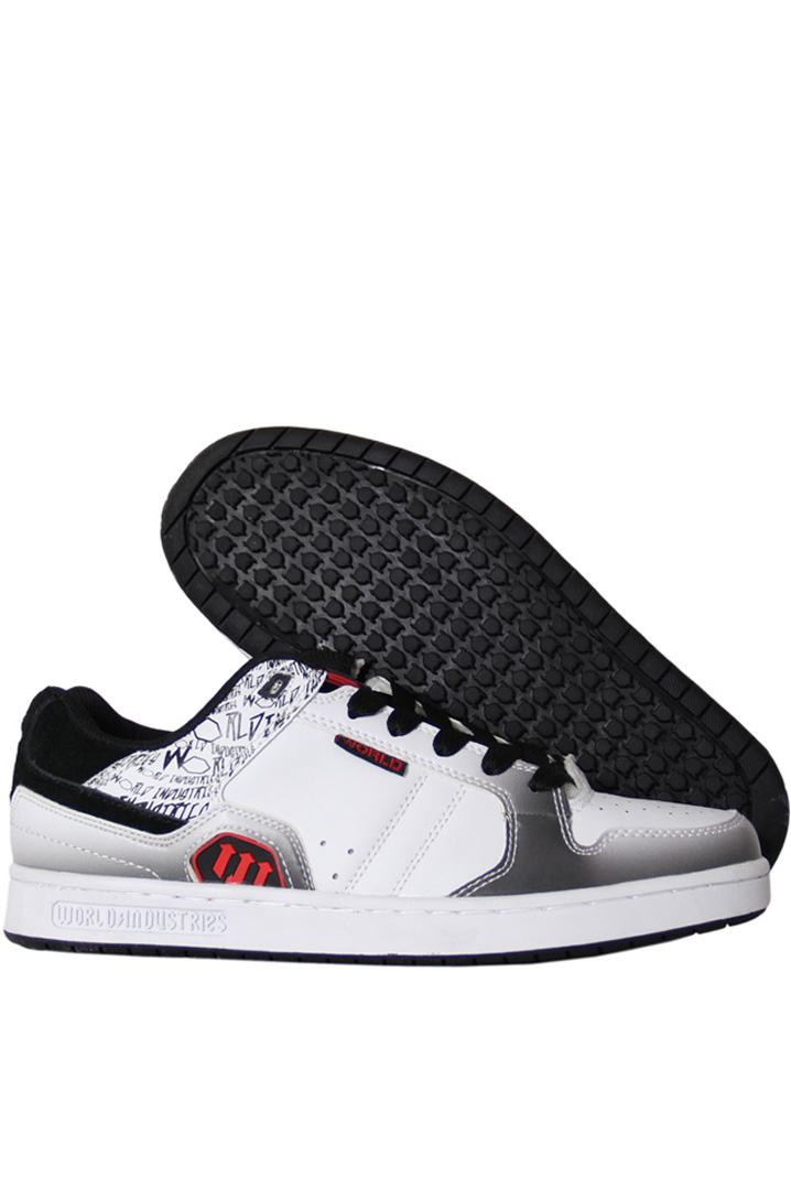 World WF0428 - WHT/BLK/RED